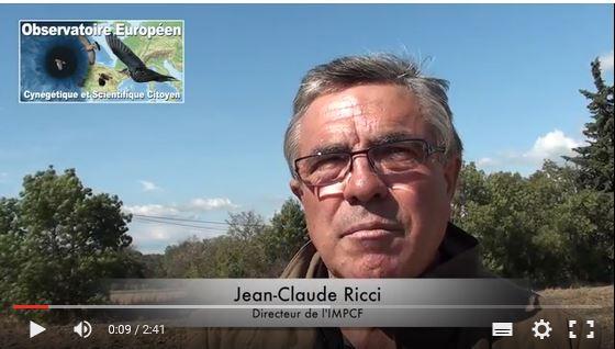 pourquoi un observatoire des migrateurs la reponse de jean claude ricci directeur de l'impcf association de defense des chasses traditionnelles à la grive (adctg)